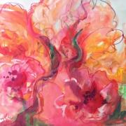 Tulips pink and orange