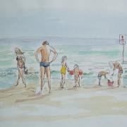 Schizzo della Spiaggia I