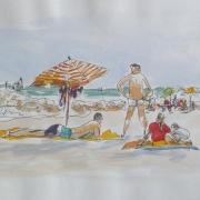 Schizzo della Spiaggia II