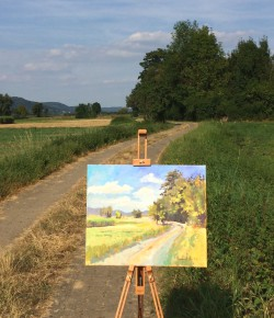 Plein air bei Weilersbach
