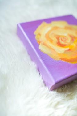 Frau-Herz-Roses-Roses-49