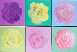 Frau-Herz-Roses-Roses-6